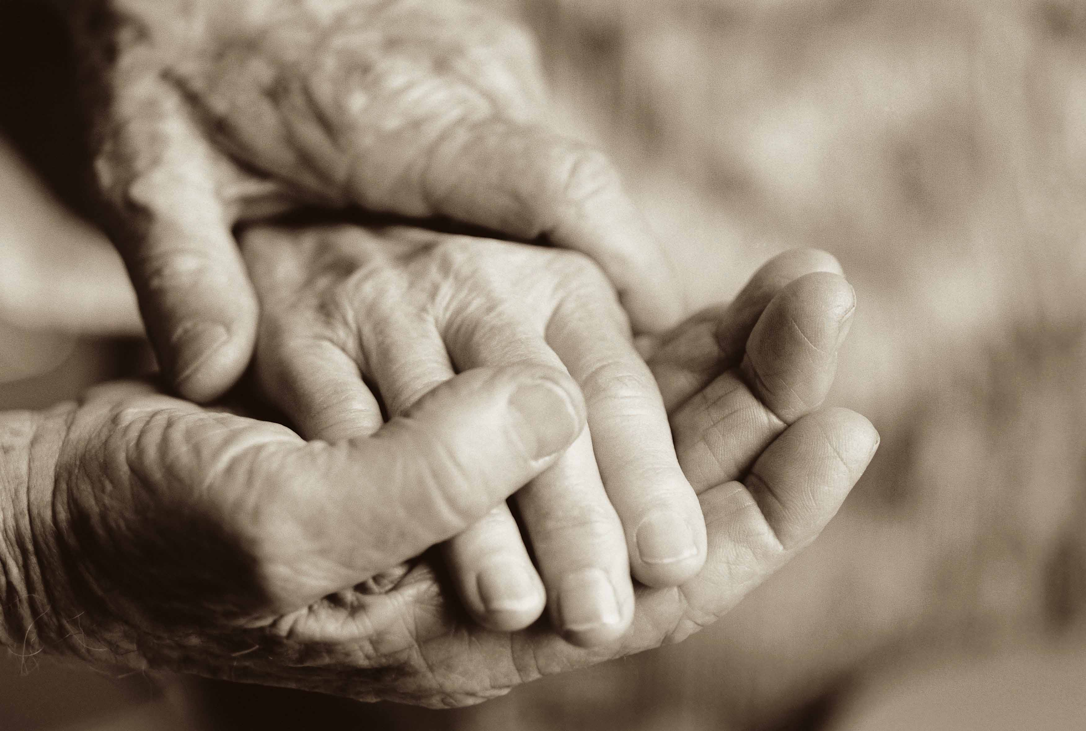 Mans Hand Touching Fingers Together Making Okay Sign High ... |Touching Hands Together