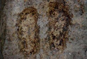 Abraham's footprints at Bani Nayyim