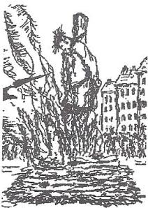 Michael Servetus burned in Geneva under John Calvin