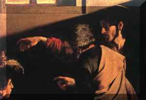 the command of Jesus(Caravaggio)