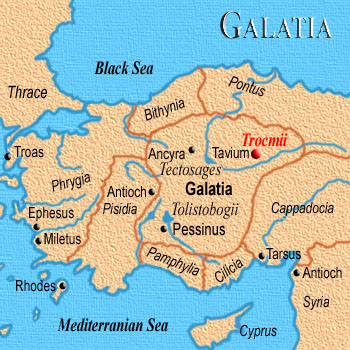 the churches in galatia St paul wrote this epistle because, after his departure from the galatian churches , jewish-christian fanatics moved in, who perverted paul's gospel of man's.