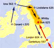 Celtic missionaries travelled without protection throughout Europe
