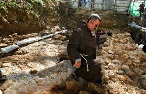Excavation of first century house in  Nazareth