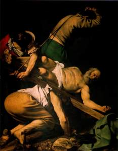 How to proclaim the message and cast out demons: Peter crucified