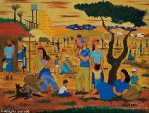 Sabbath rest in the Kibbutz