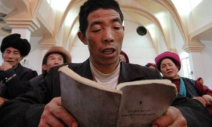 Christian worship in Tibet