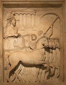 Roman Conqueror in riumph