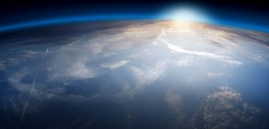 light over the planet