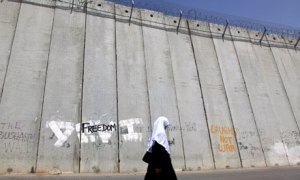 The separation wall in Israel/ Palestine