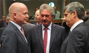 William Hague, Jean Asselborn, Michael Spindelegger
