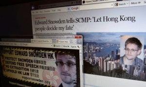 Edward Snowden perseveres