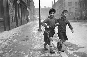 """little ones,"" Glasgow 1930's"
