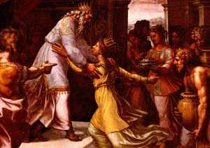 Raphael: Solomon and Queen of Sheba