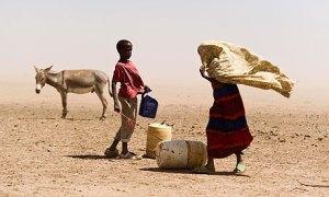 Famine continues in Somalia