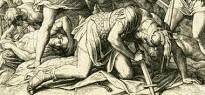 death of Saul