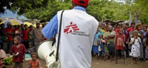 MSF worker leads education on sexual violence