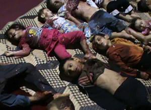 massacre of children in Syria