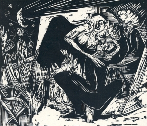 Absalom rapes a concubine