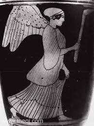 Greek Goddess of Force: Ananke