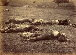 the day after victory at Gettysburg
