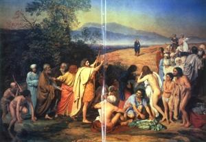 The Messiah arrives at the River Jordan: Ivanov