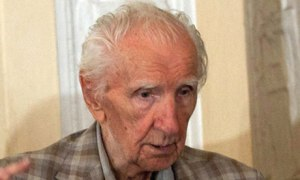 Aged 98, justice caught up with him