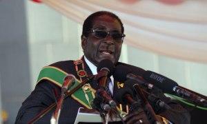 Robert Mugabe on Heroes Day