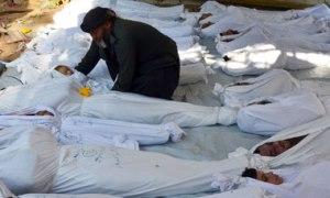 children killed in Syrian massacre