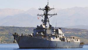 US Destroyer off Lebanon