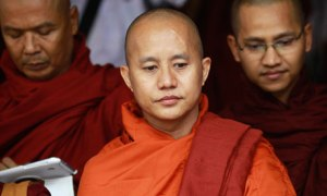 Burmese monk turns blind eye to ethnic violence