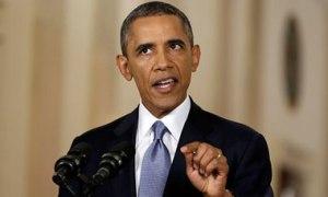 Barack Obama makes a televised address on Syria