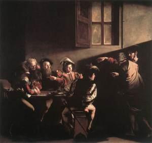 The calling of Matthew