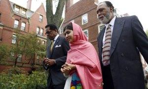 Malala at Harvard