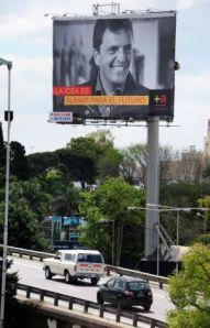 publicity for opposition leader Massa