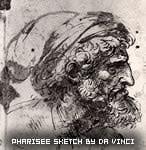 pharisee sketch by Da Vinci