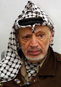 the late Yasser Arafat
