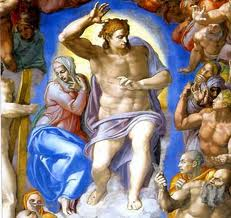 last judgement: Michelangelo
