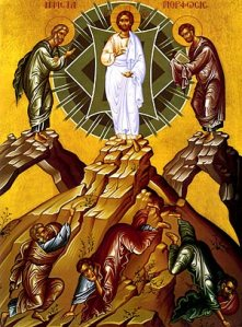 """Comic Book"" Icon of Transfiguration"