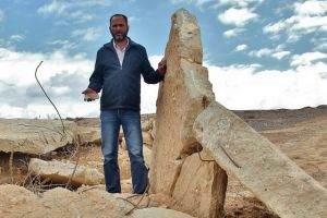 Bedouin whose house was destroyed by the Israeli government