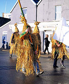 """Wren Boys""celebrate St. Stephen's Day n Dingle, Ireland"