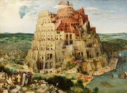 The Tower of Babel by Breughel