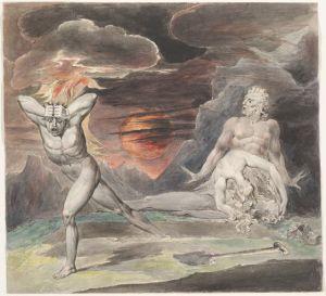 Cain fleeing the wrath of God