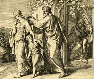 Ishmael and Hagar sent away