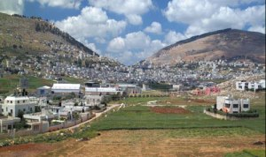 modern area of Shechem