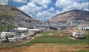 modern area of Shechem