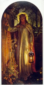 """The Light of the World"" by Holman Hunt"