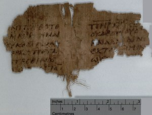 fragment of Nicene CReed from 5th Century CE