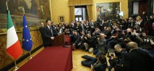 Renzi meets the press