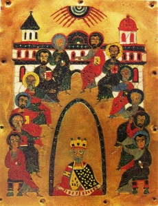 descent of the Holy Spirit, georgian 12th cent