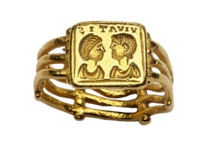 early Christian marriage ring